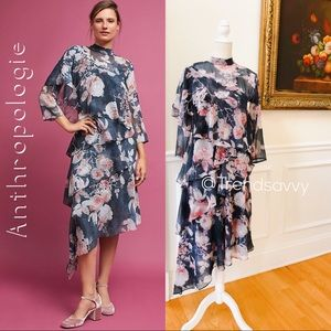 NWT ANTHROPOLOGIE Hemant & Nandita Sammy Dress XS